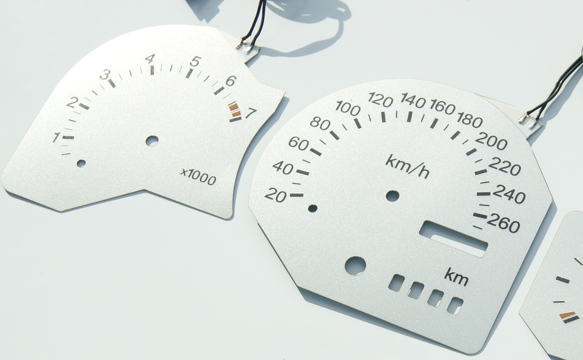Plasma Dials for Ford Escort RS Cosworth