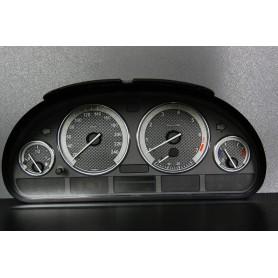 BMW E39 Design 2 PLASMA TACHO GLOW GAUGES TACHOSCHEIBEN DIALS