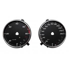 Seat Leon 3 - zamiennik z MPH na km/h