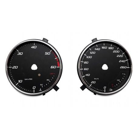 Seat Leon 3 - tarcze licznika zamiennik z MPH na km/h