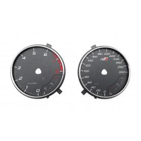 Seat Leon 3 Cupra - zamiennik z MPH na km/h