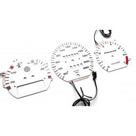 Volkswagen Passat B3 & B4 design 3 plasma tacho glow gauges tachoscheiben dialsplasma tacho glow gauges tachoscheiben dials