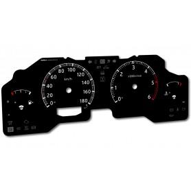 Nissan Patrol Y61 GU4 instrument cluster INDIGLO tacho dials