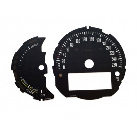 MINI Countryman Plug-in Hybrid - zamiennik tarcz licznika, zegary z MPH na km/h