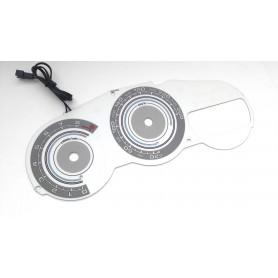 Toyota Celica VII gen design 8 plasma tacho glow gauges tachoscheiben dials
