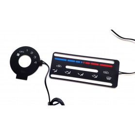 Mazda MX-5 - Heater control panel