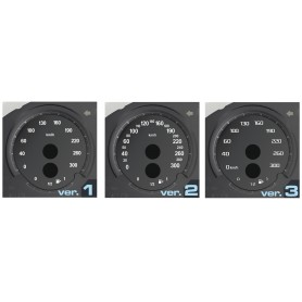 BMW M2 F87 - Replacement tacho dials, counter faces gauges - converted from MPH to Km/h