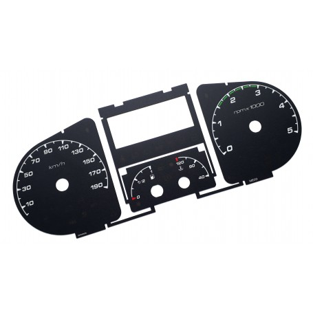 Iveco Daily 2006-2010 Replacement dial - converted from MPH to Km/h