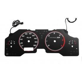 Nissan Patrol Y61 GU4 instrument cluster INDIGLO tacho dials design 3