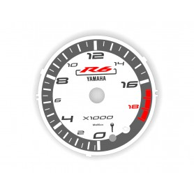 Yamaha R6 2008-2017 design 4 plasma tacho glow gauges tachoscheiben dials