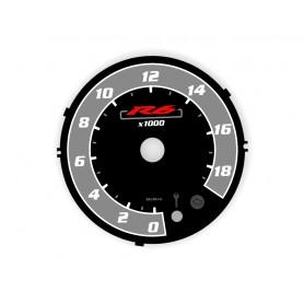 Yamaha R6 2008-2017 design 5 plasma tacho glow gauges tachoscheiben dials