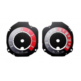 Ford Mustang (from 2015) - custom replacement instrument cluster MPH to km/h