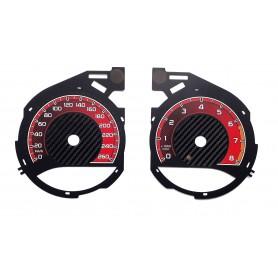 Mercedes C Class W205 - Custom Replacement tacho dials, face counter gauges