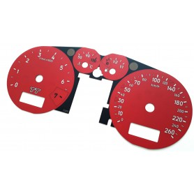 Audi TT 1998-2006 - custom tacho replacement dials instrument cluster
