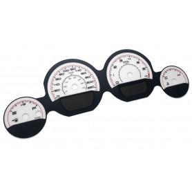 Dodge Challenger 2011-2014 - zamiennik tarcz licznika, zegary z MPH na km/h