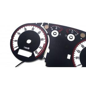 Volkswagen Passat B5 '96-'00 design 2  Audi TT Style plasma tacho glow gauges tachoscheiben dials
