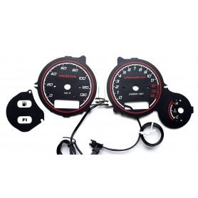 Honda XL 125V Varadero instrument cluster glow gauges