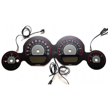 DODGE CHALLENGER 2011-2014 glow gauges INDIGLO instrument cluster dials Design 2
