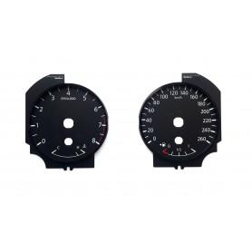 Nissan Murano - zamiennik tarcz licznika z MPH na km/h