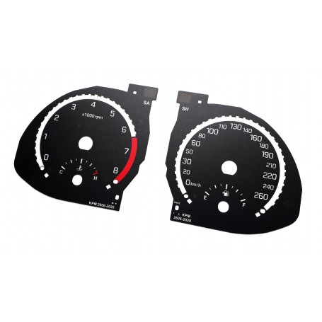 Hyundai Santa Fe 3 - replacement instrument cluster dials MPH to km/h