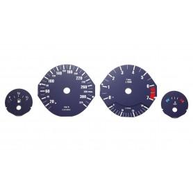 BMW E34 Alpine Replica Replacement tacho dials