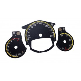 Volkswagen Beetle - Replacement tacho dials Model 5