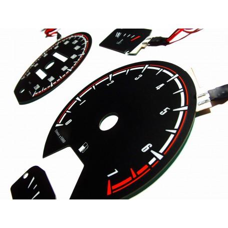 Volkswagen Golf MK2 / Jetta / Scirocco design 1 plasma tacho glow gauges tachoscheiben dials