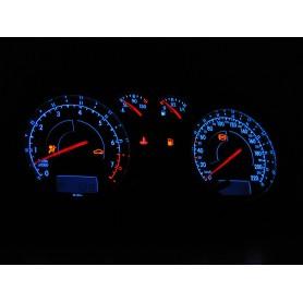 Volkswagen Golf MK4 / Bora design 1 glow gauges, plasma dials