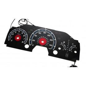 Honda Accord Coupe 1998-2002 design 2 plasma tacho glow gauges tachoscheiben dials