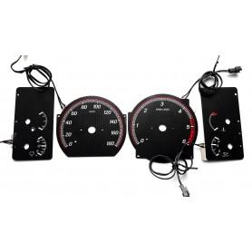 Nissan Patrol Y60 INDIGLO glow face gauge tacho dials