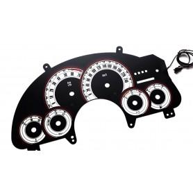 Pontiac Firebird 4 plasma tacho glow gauges tachoscheiben dials