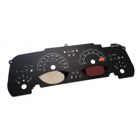Jeep Compass - replacement tacho dials counter gauges MPH to km/h USA
