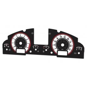 Porsche Cayenne 02-10 design 3 plasma tacho glow gauges tachoscheiben dials