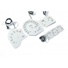 Ford Escort RS Cosworth - INDIGLO plasma dials, replacement glow gauges