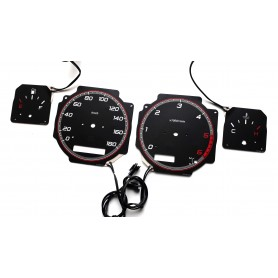 Nissan Patrol GR Y61 PLASMA TACHO GLOW GAUGES TACHOSCHEIBEN DIALS