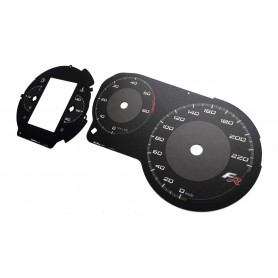 SEAT Leon 2 FR - replacement tacho dials from MPH to km/h
