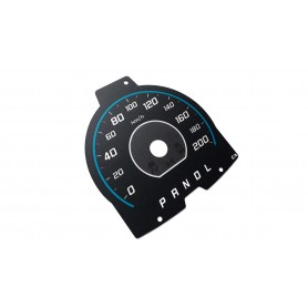 Ford C-Max Energi Hybrid - Replacement dial - face gauge converted from MPH to KM/H