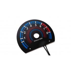 Fiat Seicento - RPM dial design 3