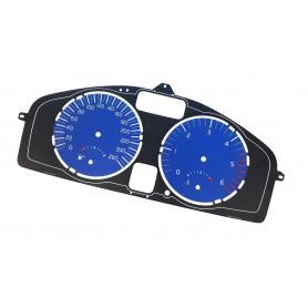 VOLVO C30, S40, V50, C70 - face gauge instrument cluster dials design like R, Polestar