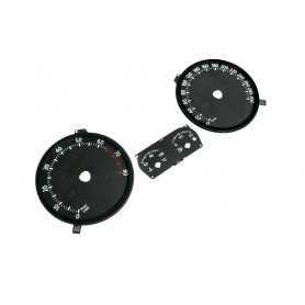 Volkswagen Golf 5 R32, GTI - Replacement tacho dials MPH to km/h