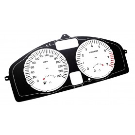 VOLVO C30, S40, V50 - face gauge instrument cluster dials Polar Design