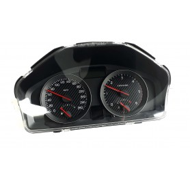 VOLVO C30, S40, V50, C70 - face gauges instrument cluster dials DARK Carbon Design Counter