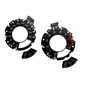 Mercedes SLS C197 R197 - Replacement tacho dials - converted from MPH to Km/h