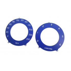 Volvo S60, V60, XC60, S80, V70, XC70 - zamiennik oryginalnych tarcz licznika, zegary jak w R-Design