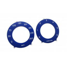Volvo S60, V60, XC60. S80, V70, XC70 - Replacement tacho dials gauges from MPH na km/h - like R-Design // tacho counter