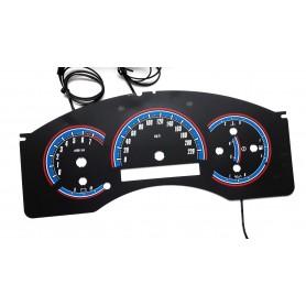 Nissan Titan & Armada wzór 1 świecące tarcze licznika zegary INDIGLO
