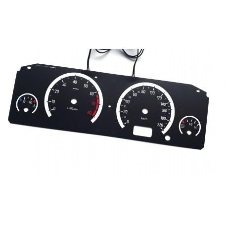 Opel Frontera B 1998-2003 design 3 plasma tacho glow gauges tachoscheiben dials