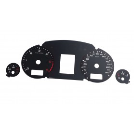 Audi A4 (B6 i B7) RS design - Replacement tacho dial
