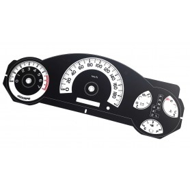 Toyota FJ Cruiser - replacement tacho dial gauges converted from MPH to Km/h // TACHO COUNTER