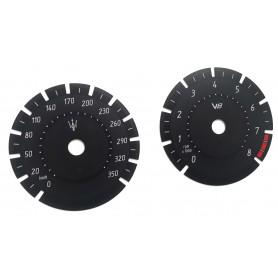 Maserati Levante V8 - zamiennik tarcz licznika z MPH na km/h